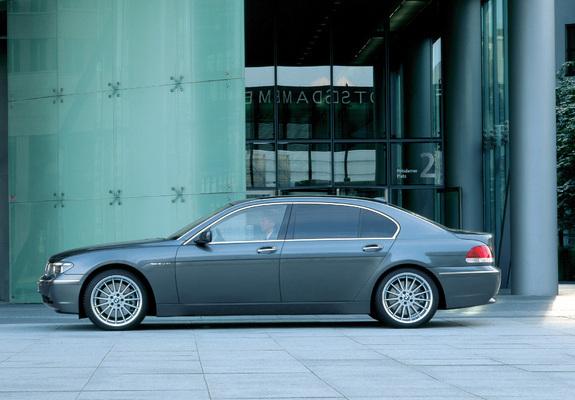 of BMW 760Li (E66) 2003–05
