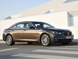 Pictures of BMW 750Li (F02) 2012