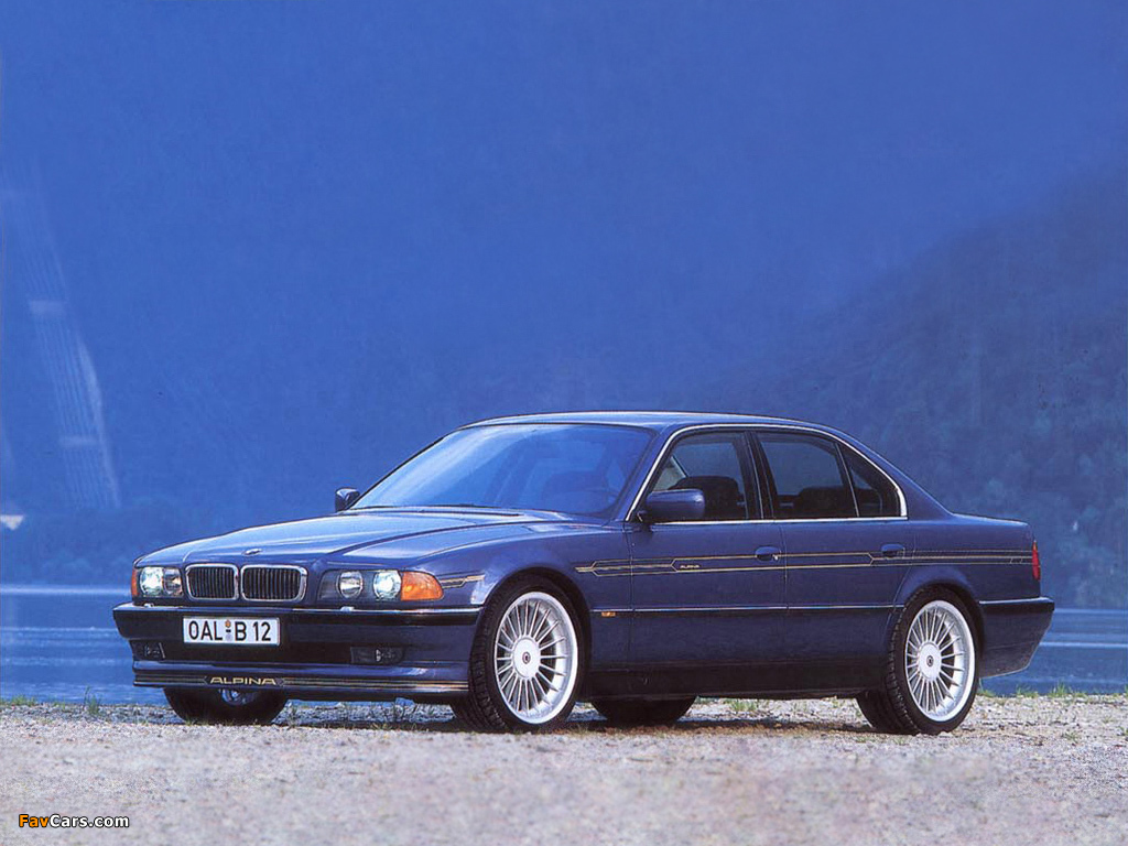 Alpina B12 5 7 E38 1995 98 Wallpapers 1024x768