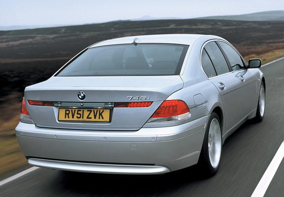 BMW 745i UK Spec E65 2001 05 Wallpapers