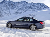 BMW 740d xDrive (F01) 2008–12 wallpapers