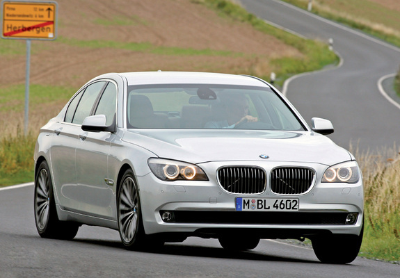 Bmw 730d F01 2008 Wallpapers