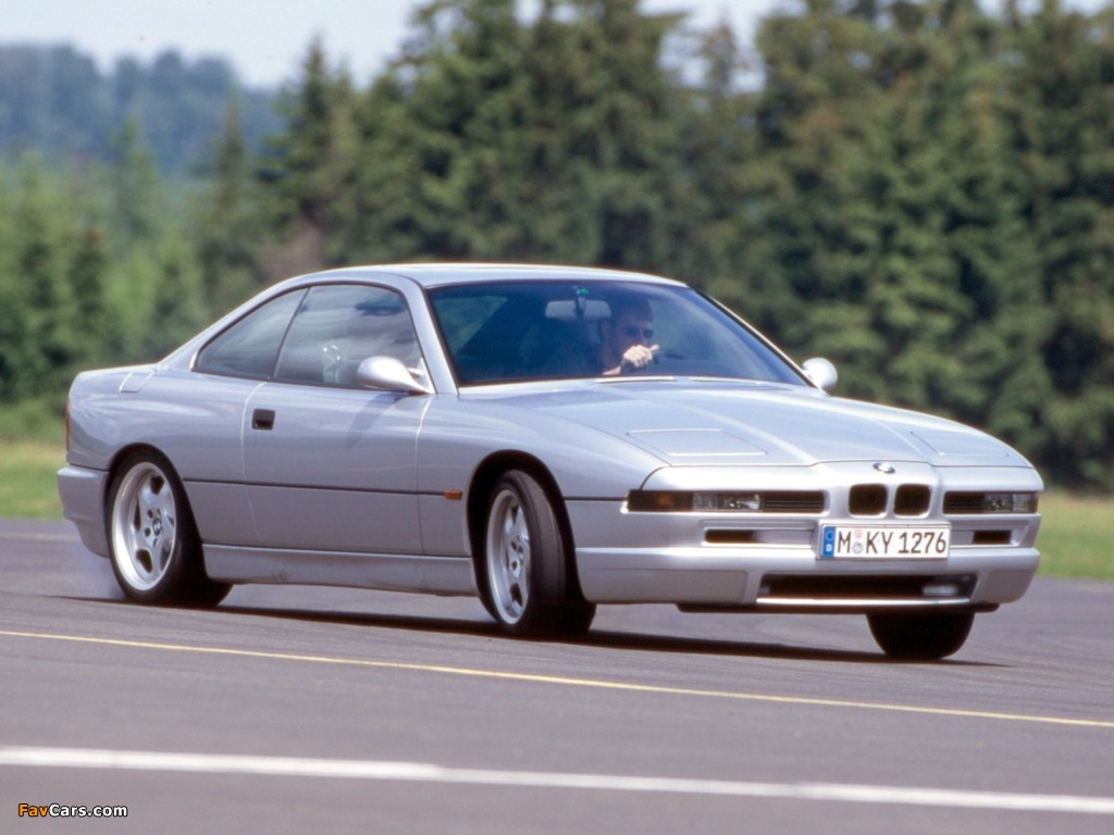 BMW 850 CSi (E31) 1992–96 photos (1024 x 768)