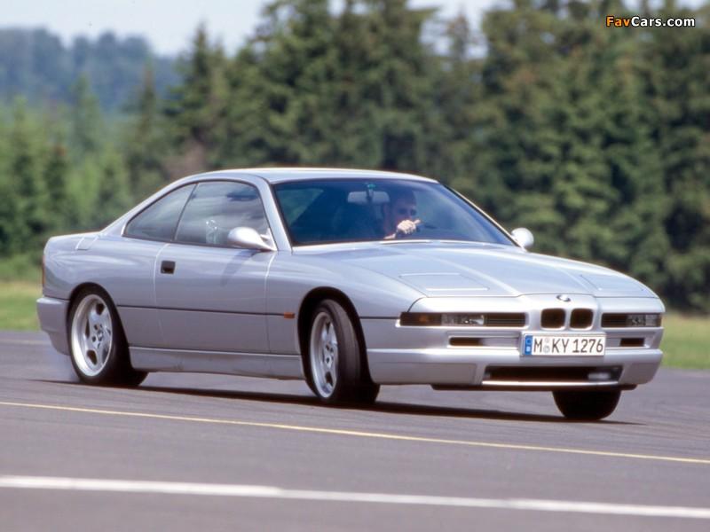 BMW 850 CSi (E31) 1992–96 photos (800 x 600)