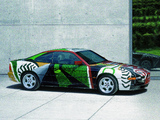 BMW 850 CSi Art Car by David Hockney (E31) 1995 pictures