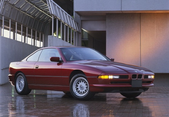 BMW 850i US-spec (E31) 1989–94 photos