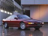BMW 850i US-spec (E31) 1989–94 photos