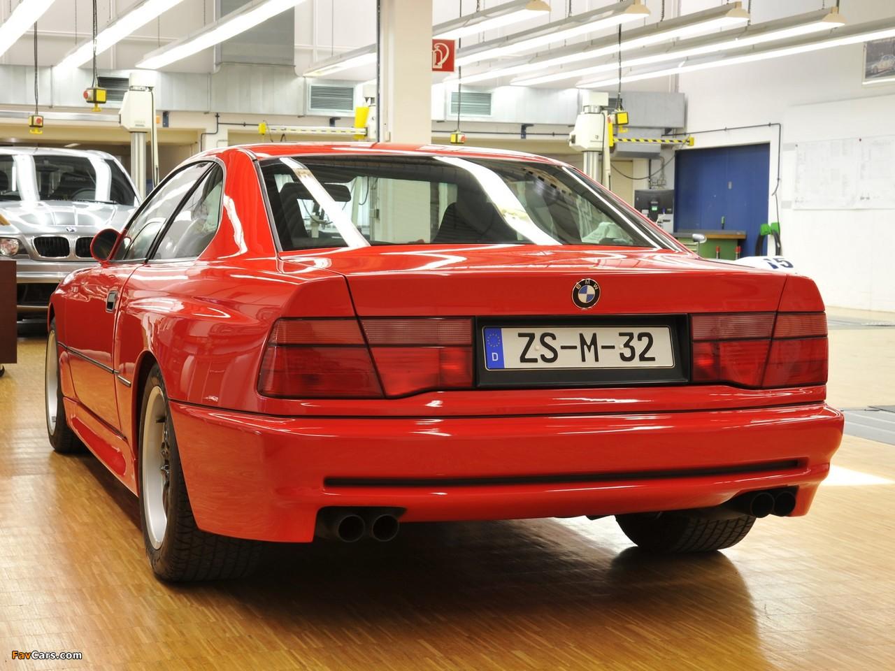 BMW M8 Prototype (E31) 1990 pictures (1280 x 960)