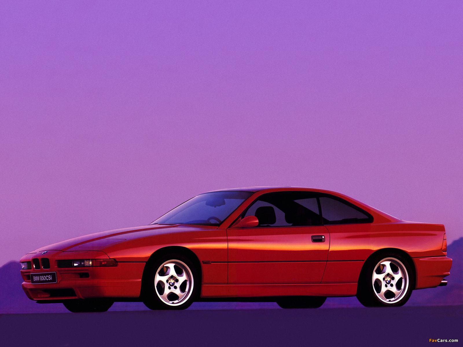 BMW 850CSi (E31) 1992–96 images (1600 x 1200)