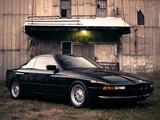 Images of BMW 850i US-spec (E31) 1989–94