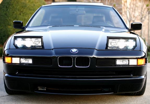 Images of BMW 850 CSi US-spec (E31) 1993–95