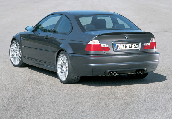 BMW M3 CSL Prototype (E46) 2002 wallpapers