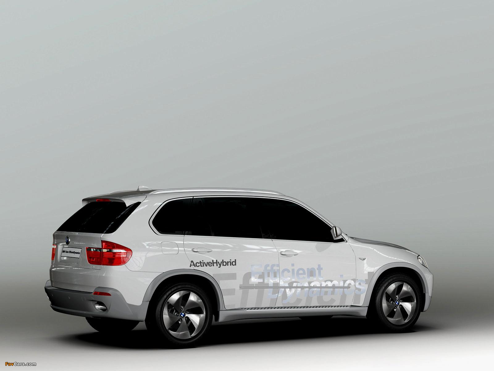 BMW X5 EfficientDynamics Concept (E70) 2008 images (1600 x 1200)