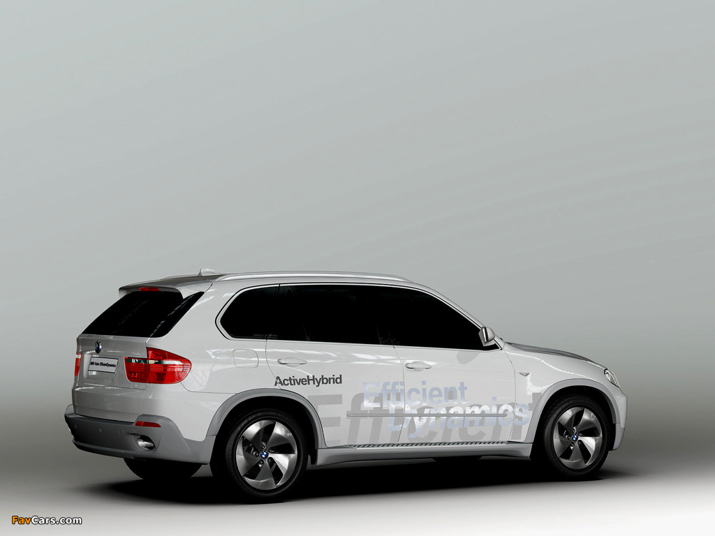 BMW X5 EfficientDynamics Concept (E70) 2008 images (1024 x 768)