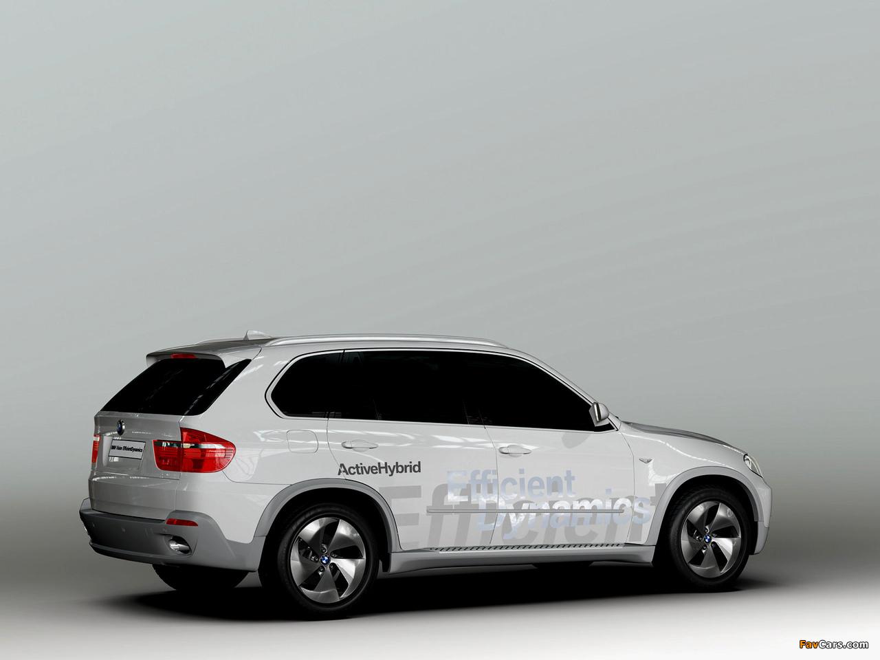 BMW X5 EfficientDynamics Concept (E70) 2008 images (1280 x 960)