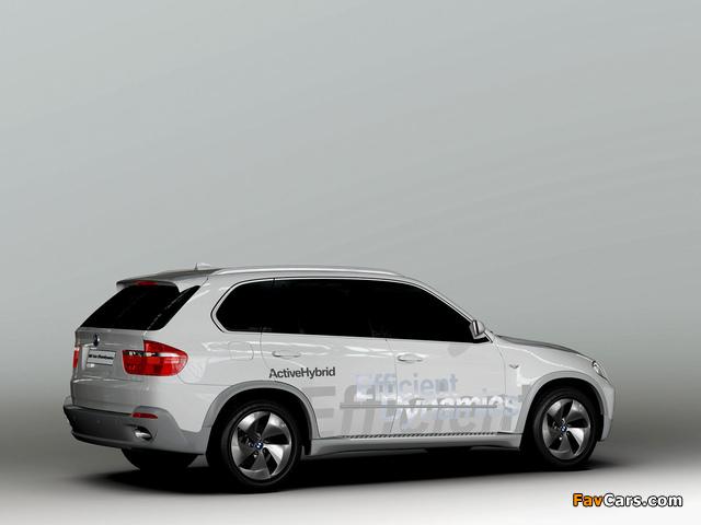 BMW X5 EfficientDynamics Concept (E70) 2008 images (640 x 480)