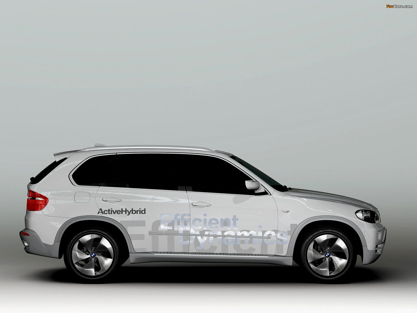 BMW X5 EfficientDynamics Concept (E70) 2008 pictures (1600 x 1200)
