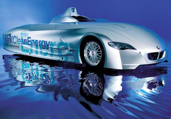 of BMW H2R Hydrogen Racecar Concept 2004