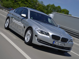 Images of BMW 5 Series ConnectedDrive Prototype (F10) 2011–12