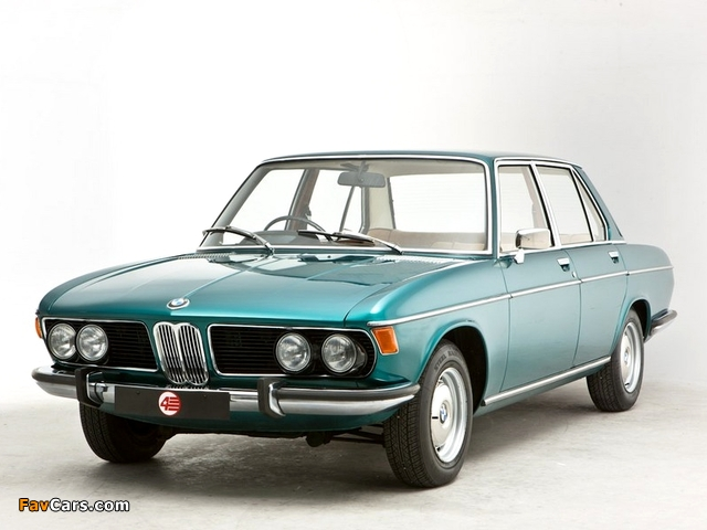 BMW 2500 UK-spec (E3) 1968–77 pictures (640 x 480)