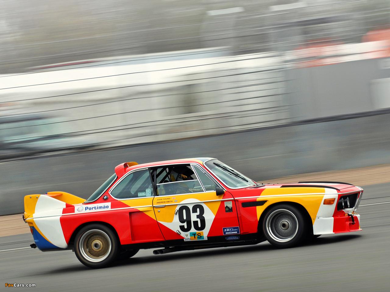 Bmw 1975 >> Photos of BMW 3.0 CSL Art Car by Alexander Calder (E9) 1975 (1280x960)