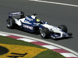 BMW WilliamsF1 FW23/FW23 2001 wallpapers