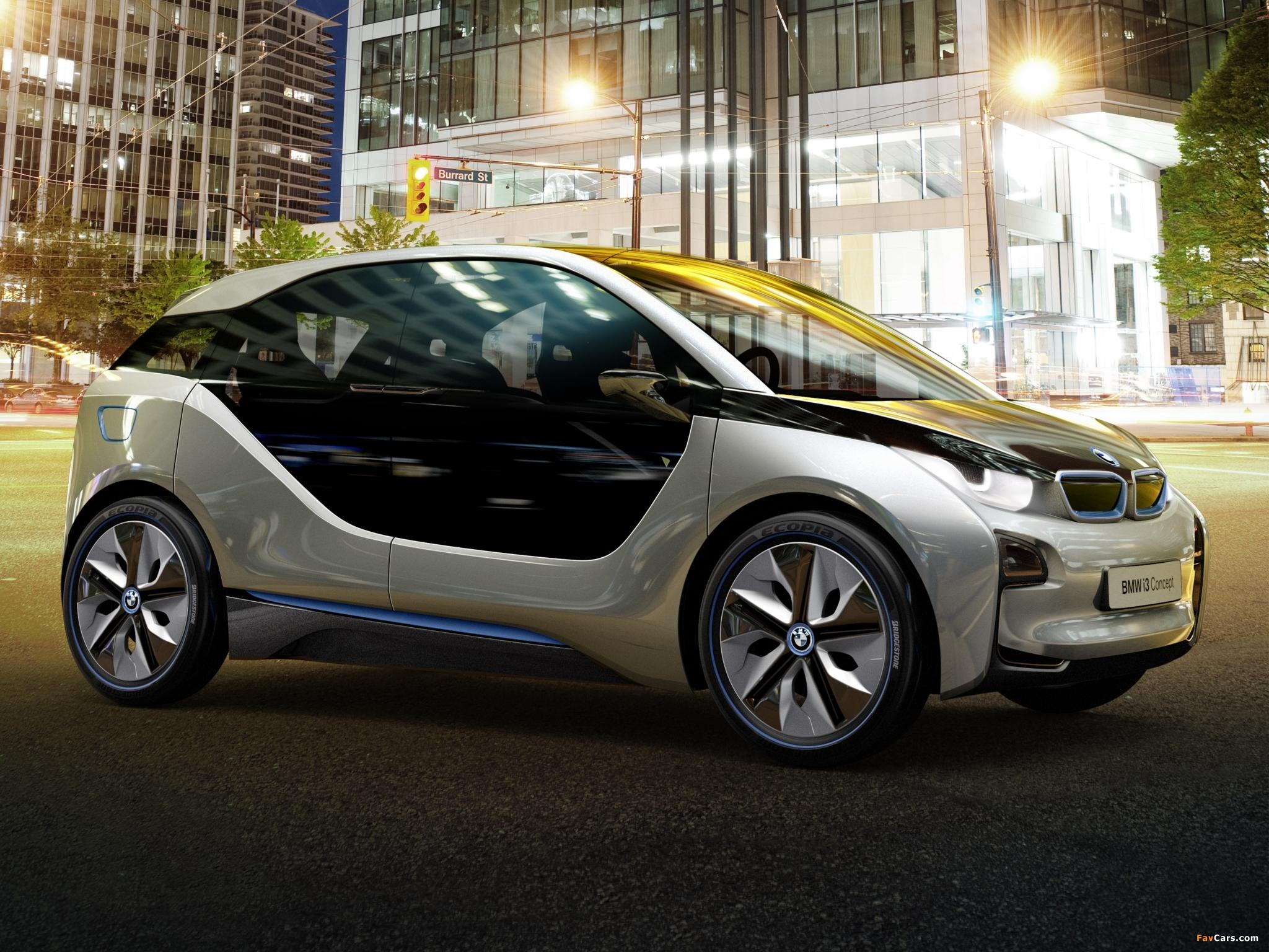 BMW i3 2014, цена видео фото, технические характеристики ...