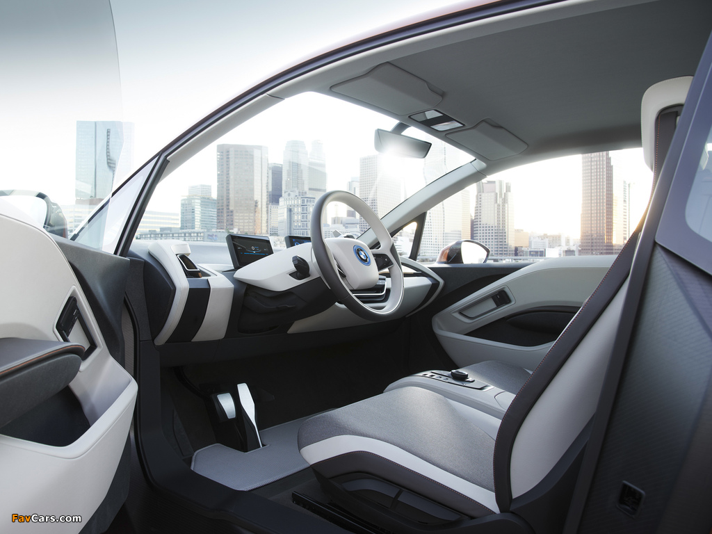 BMW i3 Concept Coupé 2012 wallpapers (1024 x 768)