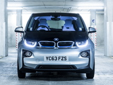 BMW i3 UK-spec 2013 images