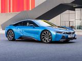 BMW i8 UK-spec 2014 photos