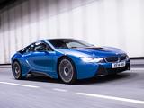 BMW i8 UK-spec 2014 wallpapers