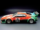 BMW M1 Group 4 Rennversion Art Car by Andy Warhol (E26) 1979 wallpapers