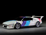 BMW M1 Procar Art Car by Frank Stella (E26) 1979 wallpapers