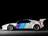 Images of BMW M1 Procar Art Car by Frank Stella (E26) 1979