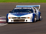Photos of BMW M1 Procar (E26) 1979–81