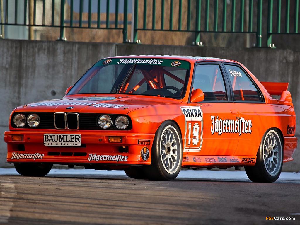Bmw E30 M3 >> BMW M3 DTM (E30) 1987–92 images (1024x768)