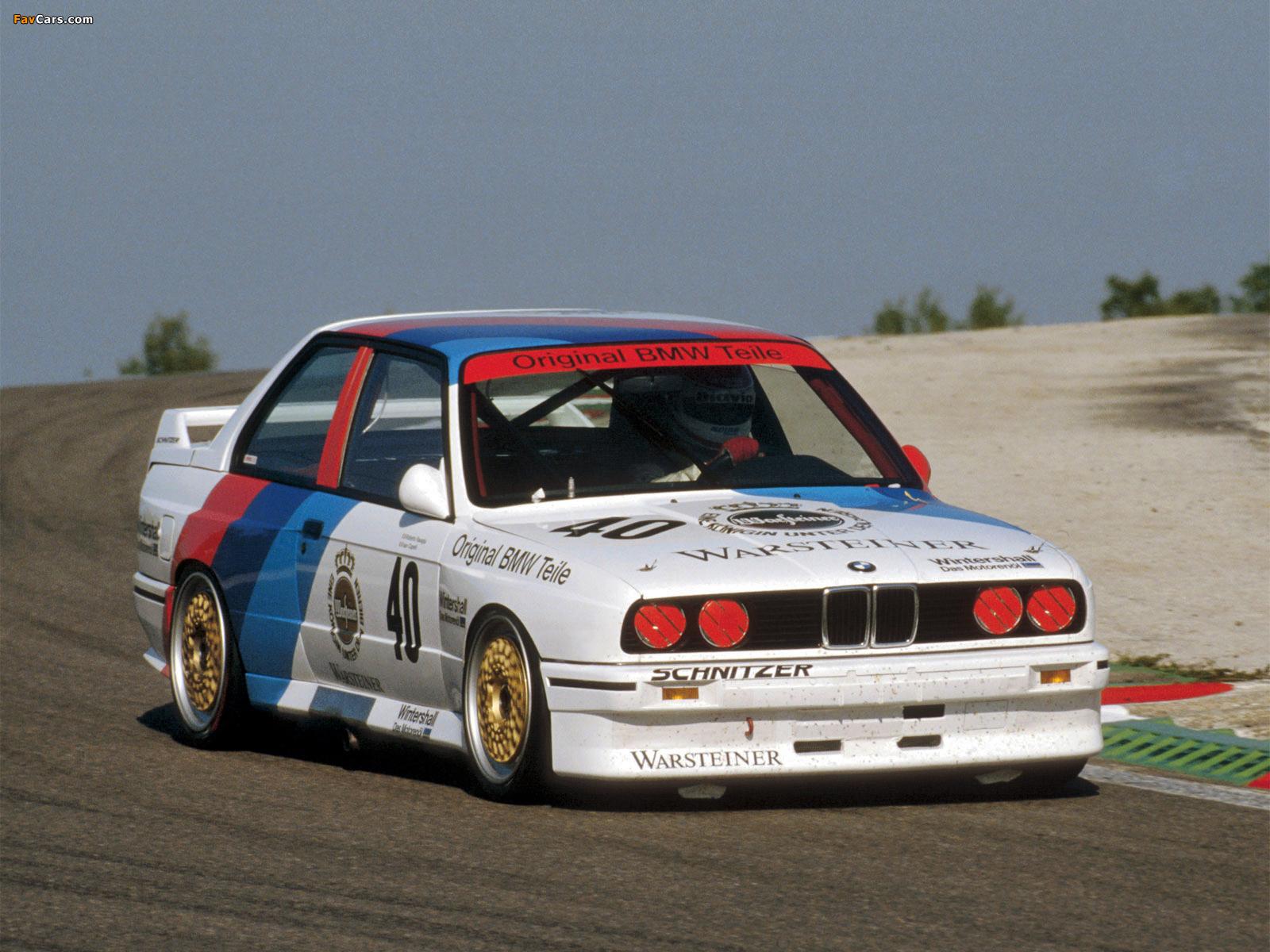 M3 DTM (E30) 1987–92 pictures