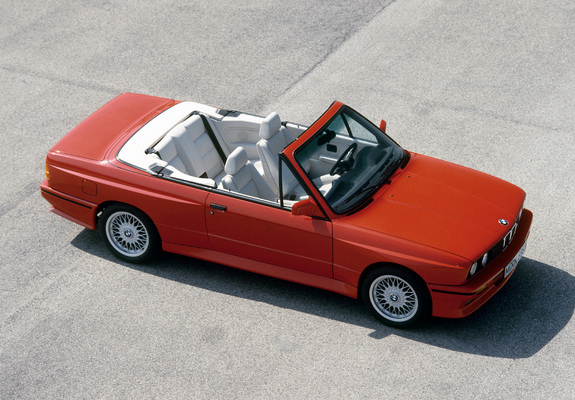 BMW M3 Cabrio (E30) 1988–91 wallpapers