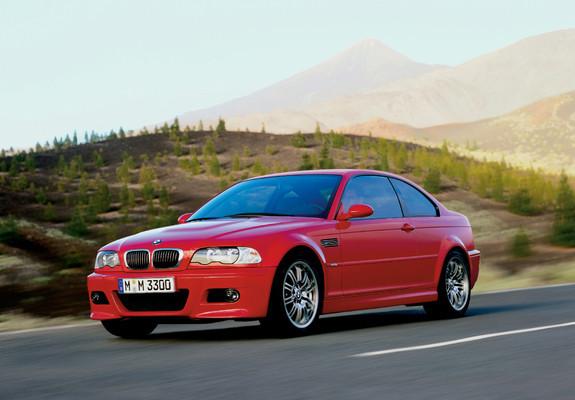 BMW M3 Coupe (E46) 2000–06 images