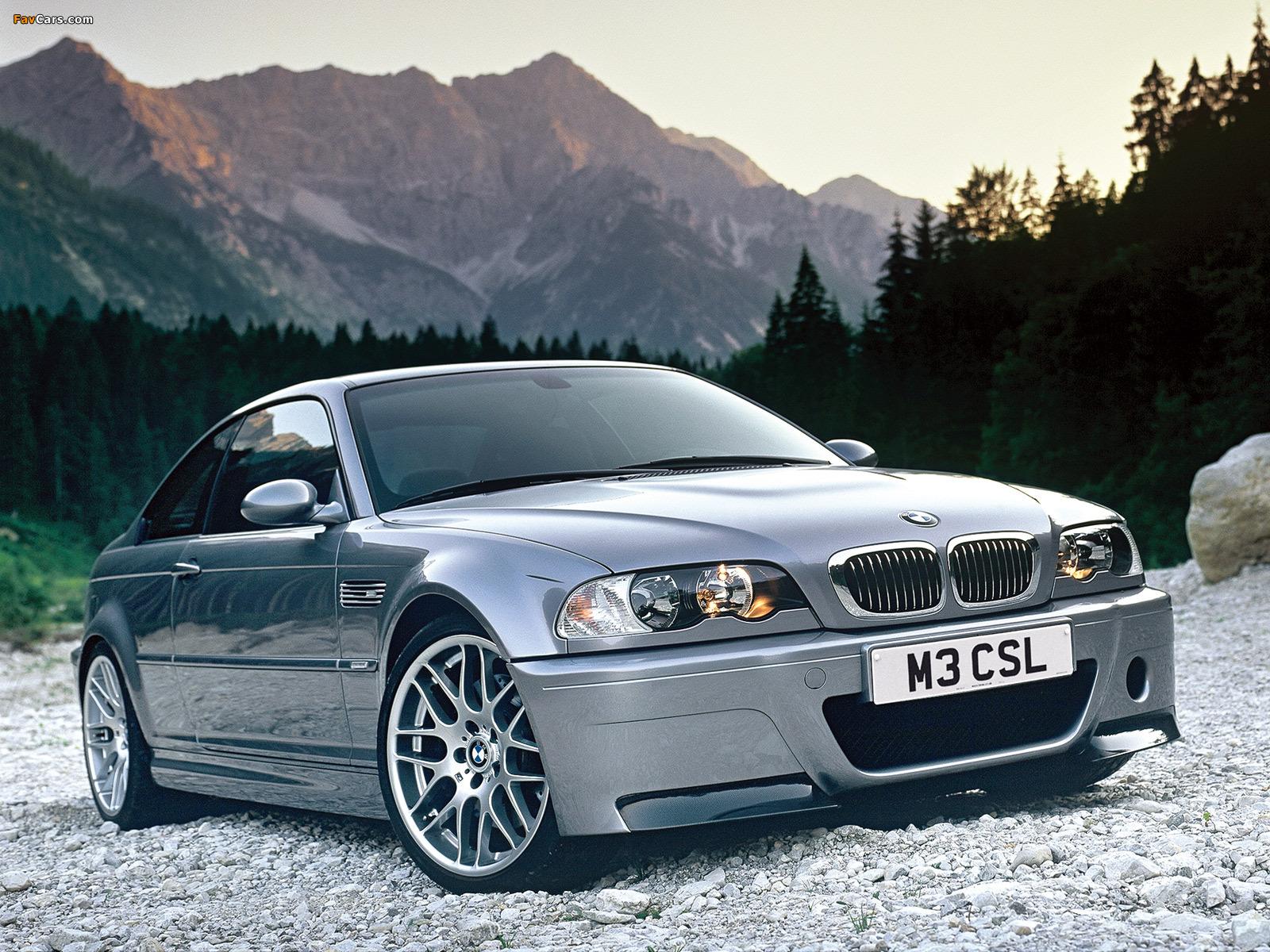 BMW M3 CSL Coupe (E46) 2003 photos