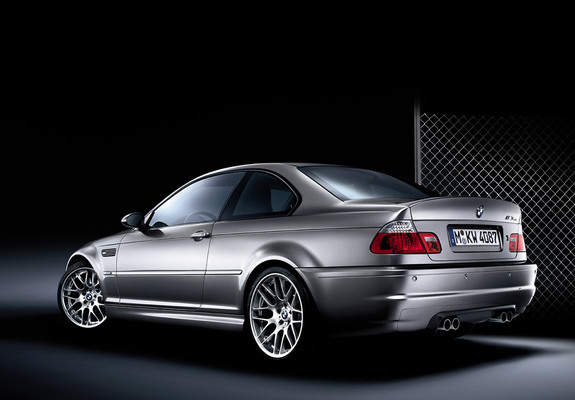 Bmw M3 Csl Coupe E46 2003 Wallpapers