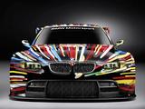 BMW M3 GT2 Art Car by Jeff Koons 2010 photos