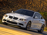 Pictures of BMW M3 Coupe US-spec (E92) 2007–10