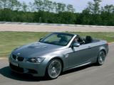 Pictures of BMW M3 Cabrio (E93) 2008