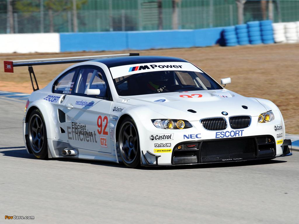 Race Car Images >> Pictures of BMW M3 GT2 Race Car (E92) 2009–12 (1024x768)