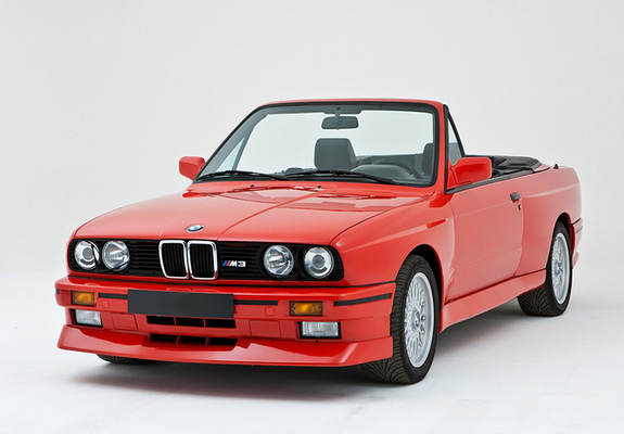 M3 Cabrio (E30) 1988–91 wallpapers