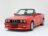 BMW M3 Cabrio (E30) 1988–91 wallpapers