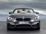 BMW M4 Cabrio (F83) 2014 wallpapers