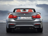 Images of BMW M4 Cabrio (F83) 2014