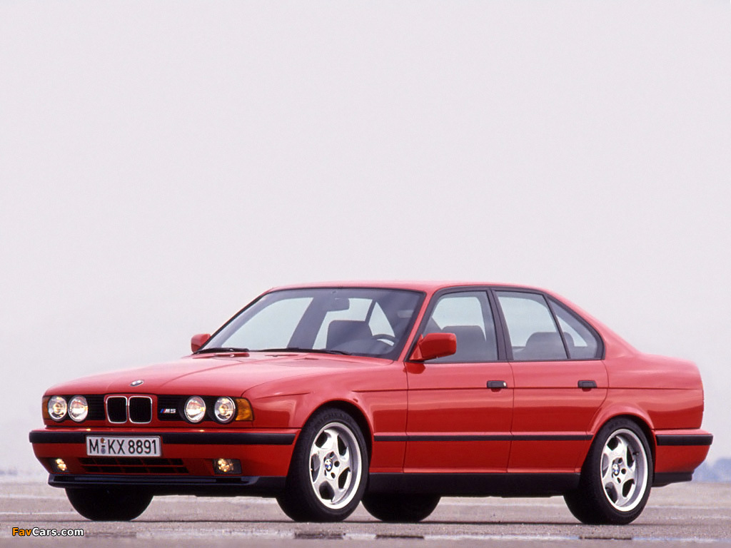 See Rims On Your Car >> BMW M5 (E34) 1991–94 images (1024x768)